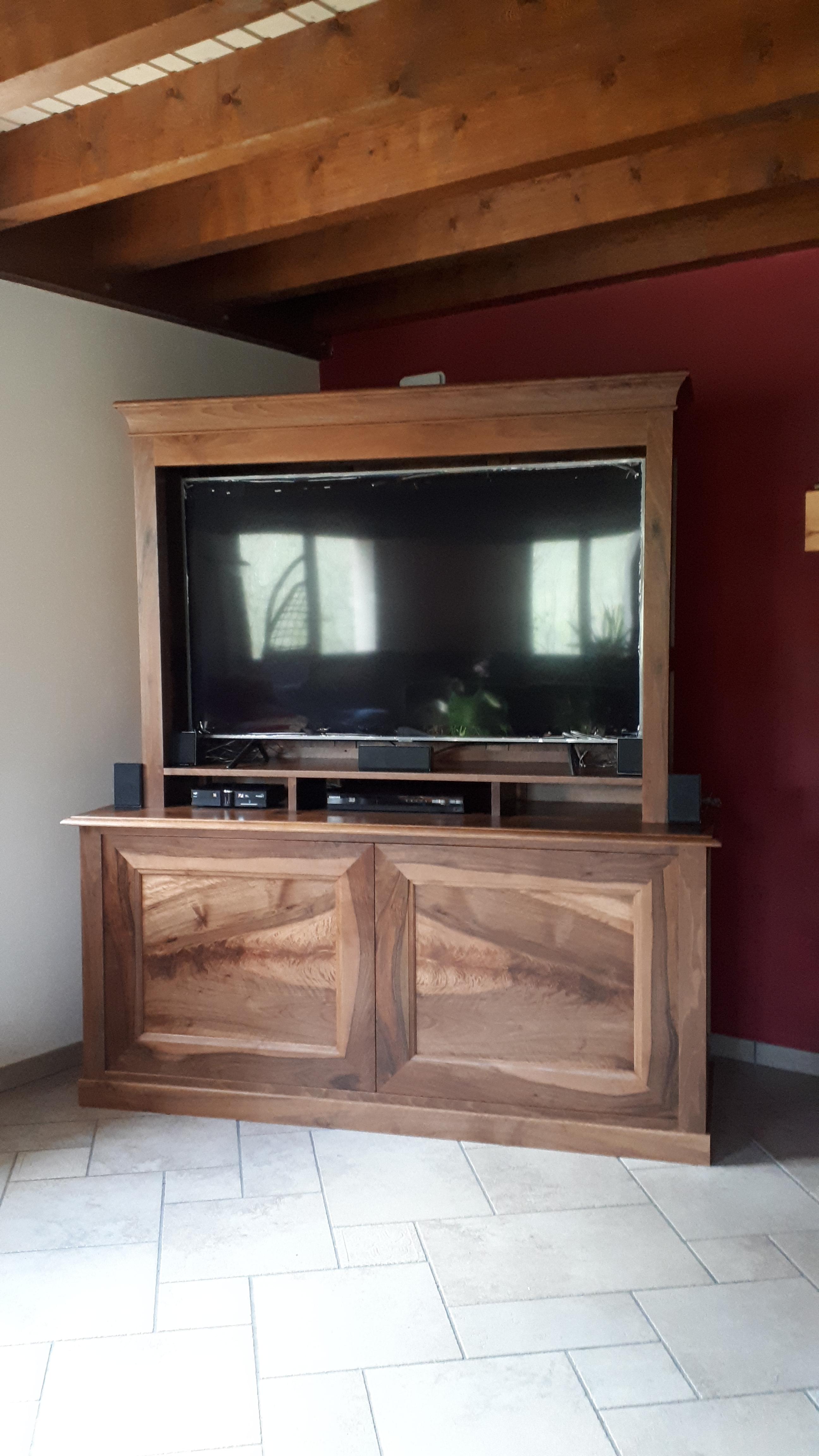 1-Meuble télé grand écran